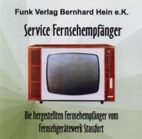 Fernsehgeräte Stassfurt Service-CD