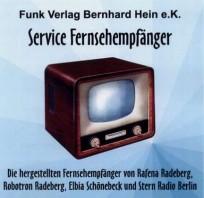 Service Fernsehempfänger  Service-CD