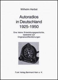 Autoradios in Deutschland 1925-1950