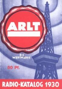 Radio-Katalog 1929/30 Radio-Arlt