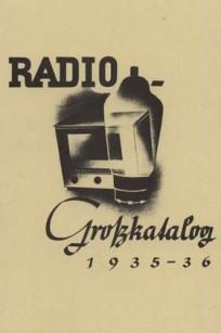 Radio-Großkatalog 1935/36