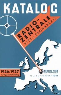 Katalog 1936/37 Radio-Zentrale Prohaska