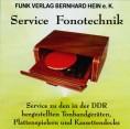 Fonotechnik der DDR Service-CD