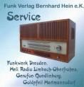 Funkwerk Dresden, HELI, Gerufon, Goldpfeil Service-CD